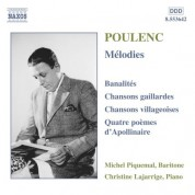 Poulenc: Melodies - CD