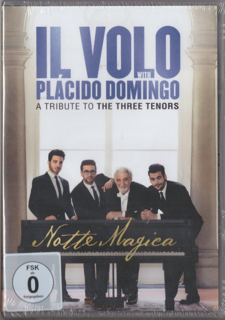 Il Divo: Notte Magica - A Tribute To The Three - DVD