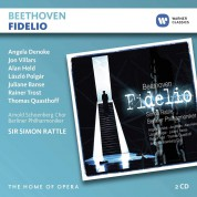 Sir Simon Rattle, Berliner Philharmoniker, Angela Denoke, Jon Villars: Beethoven: Fidelio - CD