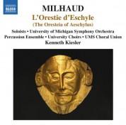 Milhaud: L'Orestie d'Eschyle - CD