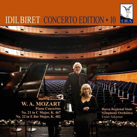 İdil Biret: Mozart: Piano Concertos No. 21 & 22 - CD