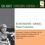İdil Biret: Concerto Edition, Vol. 1: Schumann: Piano Concerto, Op. 54 - Grieg: Piano Concerto, Op. 16 - CD