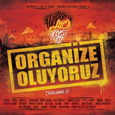 Çeşitli Sanatçılar: Organize Oluyoruz Vol. 3 - CD