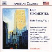 Siegmeister: Piano Music, Vol.  1 - CD