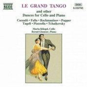Bernd Glemser, Maria Kliegel: Grand Tango and Other Dances for Cello and Piano (Le) - CD