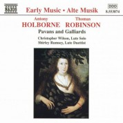 Holborne / Robinson: Pavans and Galliards - CD