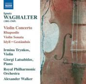Irmina Trynkos: Waghalter: Violin Concerto - Violin Sonata - CD