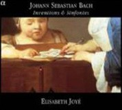Elisabeth Joye: Johann Sebastian Bach - Inventions & Sinfonies BWV 772 - 801 - CD