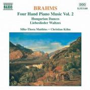 Christian Kohn, Silke-Thora Matthies: Brahms: Four-Hand Piano Music, Vol.  2 - CD