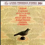 London Symphony Orchestra, Antal Doráti: Copland: Appalachian Spring, Billy the Kid - Plak