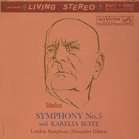 London Symphony Orchestra, Sir Alexander Gibson: Sibelius: Symphony No. 5 - Plak