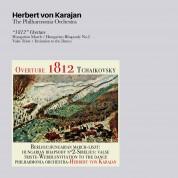 Philharmonia Orchestra, Herbert von Karajan: Tchaikovsky/ Berlioz/ Liszt/ Sibelius/ Weber: 1812 Overture / Hungarian March / Hungarian Rhapsody No 2/ Valse Triste / Invitation To Dance - CD