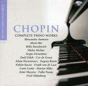 Çeşitli Sanatçılar: Chopin: Complete Piano Works - CD