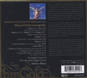 The English Concert, Andrew Manze: Biber: Missa Christi resurgentis - CD