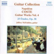 Coste: Guitar Works, Vol.  4 - CD