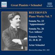 Artur Schnabel: Beethoven: Piano Sonatas Nos. 22-26 (Schnabel) (1932-1935) - CD