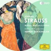 Berliner Philharmoniker, Herbert von Karajan: Strauss, J. II: Waltzes, Marches & Polkas - CD