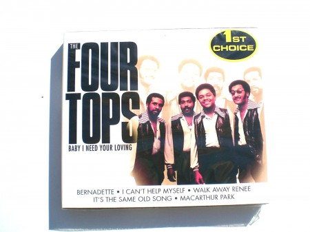 Four Tops: Baby I Need Your Loving - CD