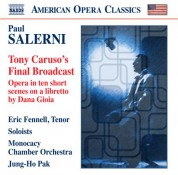 Eric Fennell: Salerni: Tony Caruso's Final Broadcast - CD