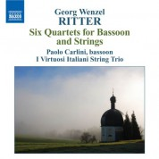 Paolo Carlini: Ritter, G.W.: Bassoon Quartets, Op. 1 - CD