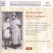 Mussorgsky: Boris Godunov - CD