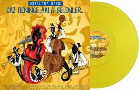 Çeşitli Sanatçılar: Ustalar Saygı: Caz Denince Akla Gelenler… (Sarı Plak) - Plak