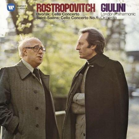 Mstislav Rostropovich: Dvořák, Saint-Saëns: Cello Concerto - CD