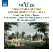 Friederike Roth: Müller: Clarinet Quartets Nos. 1 and 2 - CD
