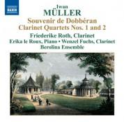 Friederike Roth: Müller: Clarinet Quartets Nos. 1 and 2 - CD