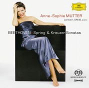 Anne-Sophie Mutter, Lambert Orkis: Beethoven: Violinson. No. 5+9 - SACD