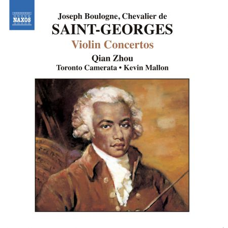 Saint-Georges: Violin Concertos No. 1, Op. 3 and Nos. 2 and 10 - CD