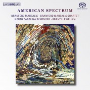 Branford Marsalis, North Carolina Symphony Orchestra, Grant Llewellyn: American Spectrum - SACD