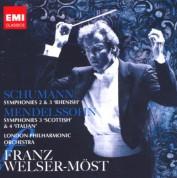 London Philharmonic Orchestra, Franz Welser-Möst: Schumann/ Mendelssohn: Symphonies - CD