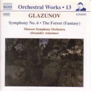 Alexander Anisimov: Glazunov, A.K.: Orchestral Works, Vol. 13 - Symphony No. 6 / The Forest - CD