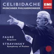 Sergiu Celibidache, Münchner Philharmoniker: Fauré: Requiem, Stravinsky: Symphony of Psalms - CD