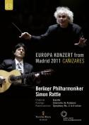 Cañizares, Berliner Philharmoniker, Sir Simon Rattle: Europakonzert from Madrid - DVD