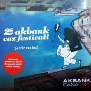 Çeşitli Sanatçılar: 25. Akbank Caz Festivali - Şehrin Caz Hali - Plak