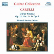 Carulli: Guitar Sonatas Op. 21, Nos. 1- 3 and Op. 5 - CD