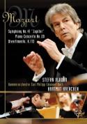Stefan Vladar, Kammerorchester Carl Philipp Emanuel Bach, Hartmut Haenchen: Mozart: Symphony No. 41, 'Jupiter' / Piano Concerto No. 20 / Divertimento, K. 113 - DVD