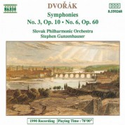 Dvorak: Symphonies Nos. 3 and 6 - CD