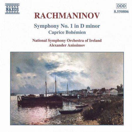 Rachmaninov: Symphony No. 1 / Caprice Bohemien - CD