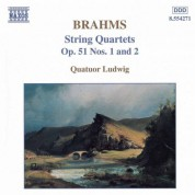 Brahms: String  Quartets Op. 51, Nos. 1 and 2 - CD