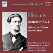 Robert Kajanus: Kajanus Conducts Sibelius, Vol. 2 - CD