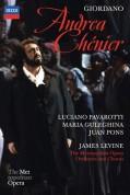 Luciano Pavarotti, Maria Guleghina, Metropolitan Opera Chorus, Metropolitan Opera Orchestra, James Levine: Giordano: Andrea Chénier - DVD