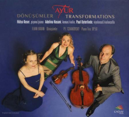Ayur Trio: Dönüşümler - CD