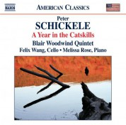 Blair Woodwind Quintet: Schickele: A Year in the Catskills - CD