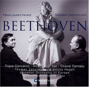 Pierre-Laurent Aimard, Thomas Zehetmair, Clemens Hagen, Arnold Schoenberg Chor, Chamber Orchestra of Europe, Nikolaus Harnoncourt: Beethoven: Triple Concerto, Rondo, Choral Fantasy - CD