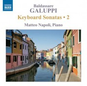 Matteo Napoli: Galuppi: Keyboard Sonatas, Vol. 2 - CD