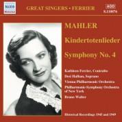 Mahler: Kindertotenlieder / Symphony No. 4 (Ferrier) (1945, 1949) - CD