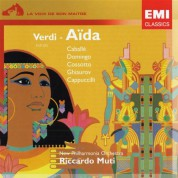 Montserrat Caballé, Plácido Domingo, Nicolai Ghiaurov, New Philharmonia Orchestra, Riccardo Muti: Verdi: Aida (Highlights) - CD